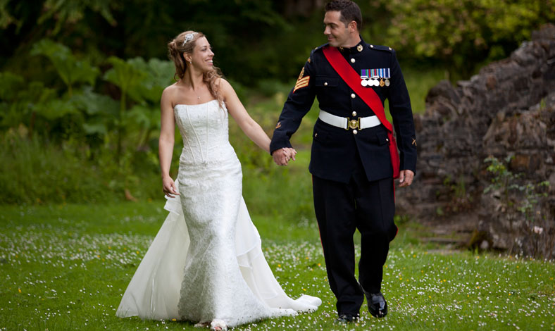 castle-hill-wedding-army-walk.jpg